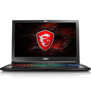 微星 GS63VR 7RF-258CN 15.6英寸游戏笔记本电脑 (i7 16G 1T+128GSSD GTX1060 win10 多彩) 黑