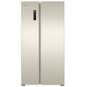 晶弘 BCD-595WEDC2/金拉丝 595升风冷无霜对开门冰箱 智能触屏 离子长效净味系统