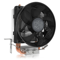 酷冷  T20 CPU 散热器(支持多平台/2热管/传Fin工艺/80mm低噪风扇/可拆装扣具/直触热管)产品图片主图