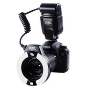 唯卓 JY-670C 佳能环闪灯TTL自动测光 口腔环形微距闪光灯 适用于佳能相机