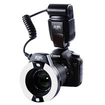 唯卓 JY-670C 佳能环闪灯TTL自动测光 口腔环形微距闪光灯 适用于佳能相机产品图片主图
