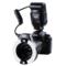 唯卓 JY-670C 佳能环闪灯TTL自动测光 口腔环形微距闪光灯 适用于佳能相机产品图片1