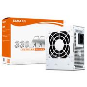 先马 330M 额定功率230W小电源 (高集成度/智能芯片/节能待机/强劲稳定/M-ATX小电源)