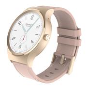 土曼  T-ripple Plus 智能手表(玫瑰金)tomos系统 蓝宝石屏 扫码支付 接打电话 防水计步心率