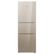 西门子  KG28FS23EC  274升  三门冰箱  电脑控温  绿色零度  三循环  (浅金色)产品图片主图