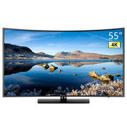 三星 UA55KUC31SJXXZ 55英寸超高清4K智能曲面液晶电视机  黑色