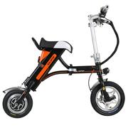 索罗门 K1 电动车成人两轮折叠便携代驾锂电小电动自行车/标准版/黑色(厂家配送)