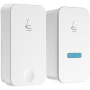 领普科技(linptech) 自发电无线门铃G4  一拖一 防水无线遥控学习对码超低功耗 (一个发射端一个接收端)