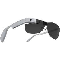 酷镜(Cool Glass) ONE智能眼镜 语音手触AR增强现实功能 通讯拍照导航即时分享视频直播  钛合金镜架 奢华灰产品图片主图