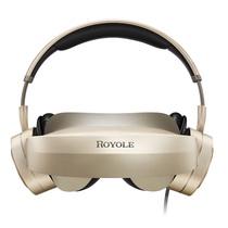 柔宇(ROYOLE) Moon 3D头戴影院 800寸弧形巨幕 2D/3D自由切换 双2K高清视觉 殿堂级耳机 屏幕大小可自由调节产品图片主图