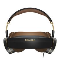 柔宇(ROYOLE) Moon 3D头戴影院 800寸弧形巨幕 逼真3D观影 双2K高清视觉 殿堂级耳机 屏幕大小可自由调节产品图片主图