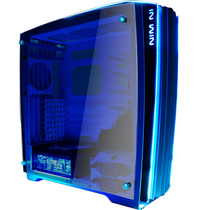 迎广 H-Frame2.0 蓝白 全塔机箱(支持EATX主板/30周年限量版/自带1065W白金全模组透光电源)产品图片主图