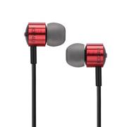 爱科技AKG K374U 入耳式耳机 线控手机耳机 HIFI音乐耳机 带麦克风话筒 红色