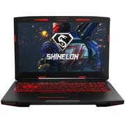 炫龙 炎魔T50-581S1N 15.6英寸游戏笔记本电脑(I5-7300HQ 8G 128G+1TB GTX1050 4G独显 背光)