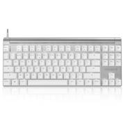 樱桃 MX Board 8.0 G80-3880HXAEU-0 背光机械键盘 白色茶轴