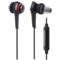 铁三角 ATH-CKS990iS 入耳式智能手机耳麦 黑色产品图片2
