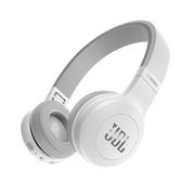 JBL E45BT 白色 可折叠便携头戴式蓝牙耳机 无线立体声音乐耳机