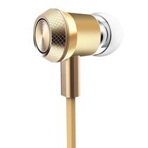 机乐堂(JOYROOM) JR-ET505 金属入耳式重低音手机耳机 线控带麦 立体声音乐 手机平板通用 金色产品图片主图