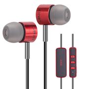 爱科技AKG K374BT 蓝牙带麦耳机 无线入耳式手机耳机 小K3003 HIFI音乐耳机 红色