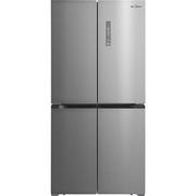 美的 BCD-468WTM(E) 468升 风冷无霜 电脑控温 63.6cm薄身十字对开门冰箱 炫彩钢