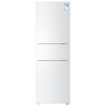 海尔 BCD-213WMPV 213升风冷无霜三门冰箱 DEO净味保鲜 中门-7度软冷冻白色水玉汐产品图片主图
