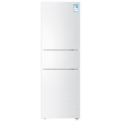 海尔 BCD-213WMPV 213升风冷无霜三门冰箱 DEO净味保鲜 中门-7度软冷冻白色水玉汐产品图片1
