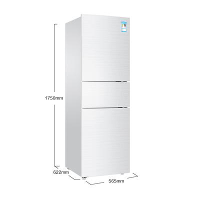 海尔 BCD-213WMPV 213升风冷无霜三门冰箱 DEO净味保鲜 中门-7度软冷冻白色水玉汐产品图片2