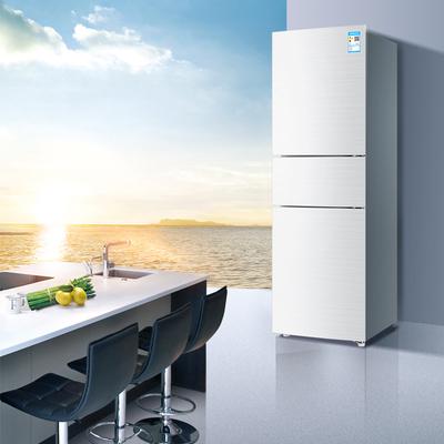 海尔 BCD-213WMPV 213升风冷无霜三门冰箱 DEO净味保鲜 中门-7度软冷冻白色水玉汐产品图片3
