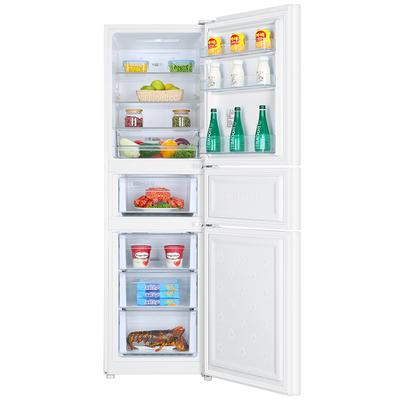 海尔 BCD-213WMPV 213升风冷无霜三门冰箱 DEO净味保鲜 中门-7度软冷冻白色水玉汐产品图片4
