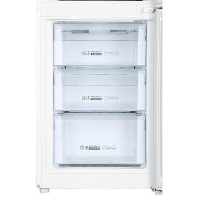 海尔 BCD-213WMPV 213升风冷无霜三门冰箱 DEO净味保鲜 中门-7度软冷冻白色水玉汐产品图片5