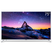 麦凯龙 X75 75英寸 真4K超高清 64位处理器 安卓智能平板液晶电视(银色)