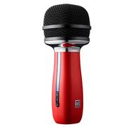 唱吧 X1 麦克风红色 车载无线麦克风 会议主持话筒 手机K歌抢麦专用