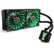 超频三 巨浪星空240 CPU水冷散热器 (RGB/多平台/一体式水冷/双12cm风扇/智能温控/配硅脂)