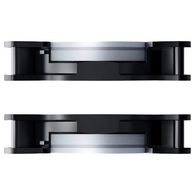 爱国者  极光RGB 12CM机箱风扇(小6针接口/支持多种风扇控制器/减震脚垫/赠4螺丝)产品图片5