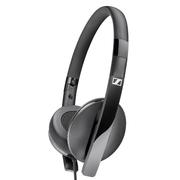 森海塞尔  HD 2.20s 封闭贴耳式便携耳机 黑色