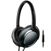 飞利浦 耳机 耳麦 头戴式 手机通话 轻便舒适 Flite SHL4805(蓝)