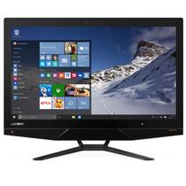 联想  AIO 700 21.5英寸一体机电脑( I3-6100T 4G 1T GT930A 2G独显 无线网卡 蓝牙 Win10)黑色产品图片主图