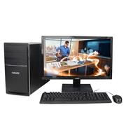 神舟 新瑞K80-SL3 D1 台式游戏电脑整机 (I3-6100 8G 1TB GT730 2G独显 DVD 键鼠)19.5英寸