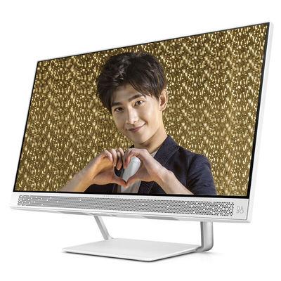 惠普 畅游人Pavilion 24-a225cn 23.8英寸纤薄一体机(i5-7400T 8G 128GSSD+1T 2G独显 IPS FHD Win10)产品图片2