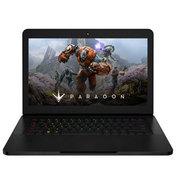 雷蛇 灵刃 RZ09-0195 14英寸轻薄游戏笔记本(i7-6700HQ/16G/256G SSD/GTX1060/WIN10)黑色