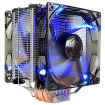超频三 东海X6 CPU散热器 (多平台/5热管/12cm双风扇/蓝光智能/cpu风扇/附带硅脂)产品图片主图