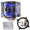 超频三 东海X6 CPU散热器 (多平台/5热管/12cm双风扇/蓝光智能/cpu风扇/附带硅脂)产品图片4