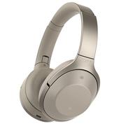 索尼 MDR-1000X Hi-Res无线降噪立体声耳机(灰米色)