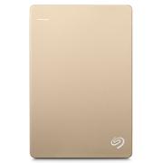 希捷 2.5英寸 Backup Plus 新睿品 4T USB3.0 便携式移动硬盘 金色(STDR4000405)