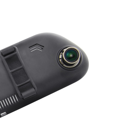 凌度 HS980C 后视镜行车记录仪 7.0英寸大屏 前后双录 倒车影像产品图片3