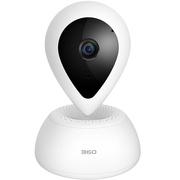 360 智能摄像机悬浮1080P版 D618 高清夜视 WIFI摄像头 双向通话 人脸识别 语音交互 白色