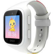360 儿童手表视频通话版 快速充电 六重定位 防丢防水 儿童卫士巴迪龙儿童手表5S W562彩屏电话手表 象牙白