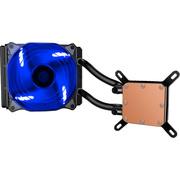 至睿 水刃L120一体式水冷散热器(多平台/发蓝光/12CM风扇/智能温控/水冷)