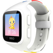 360 儿童手表智能问答版 六重定位 故事儿歌 防丢防水儿童卫士巴迪龙儿童手表5 W563彩屏电话手表 象牙白