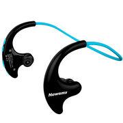 纽曼 Q10 头戴式无损音乐mp3播放器 学生跑步运动mp3 蓝牙耳机 8G 蓝色
